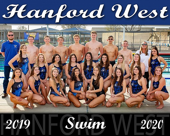 2020 Hanford West Swimming